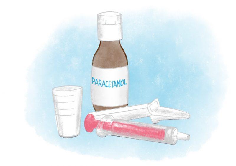 Paracetamol - Lilla Barnsmätguiden.